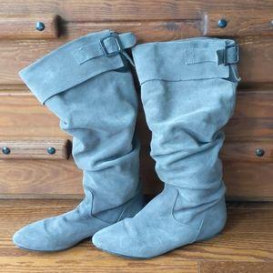 Steve Madden Tyller suede tall boots